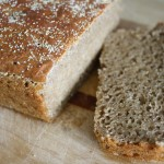 No-Knead Soaked Whole Grain Bread