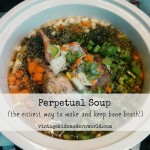 Perpetual Soup (The Easiest Way To Make and Keep Bone Broth)