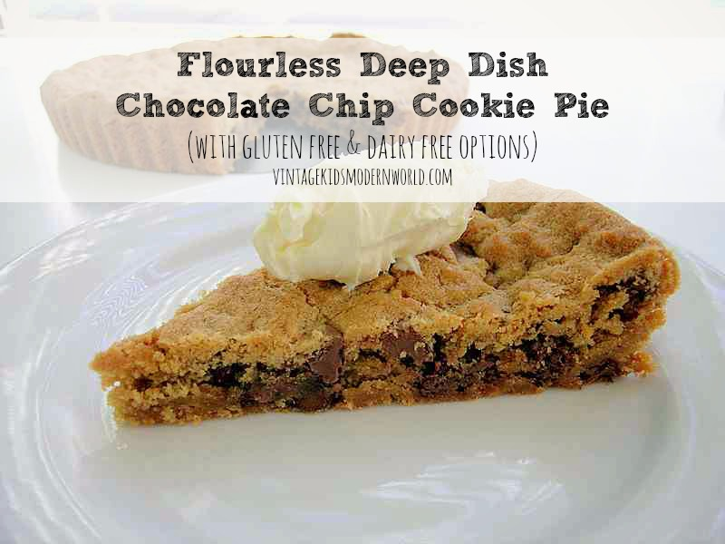Pie Plate Chocolate Chip Toffee Cookies Recipe — Dishmaps