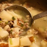 Sausage, Bean, and Potato Soup