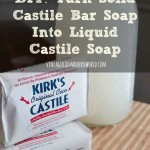 DIY Turn Solid Castile Bar Soap Into Liquid Castile Soap : Vintage Kids | Modern World