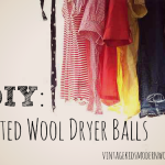 DIY: Felted Wool Dryer Balls
