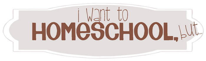I want to homeschool, but...