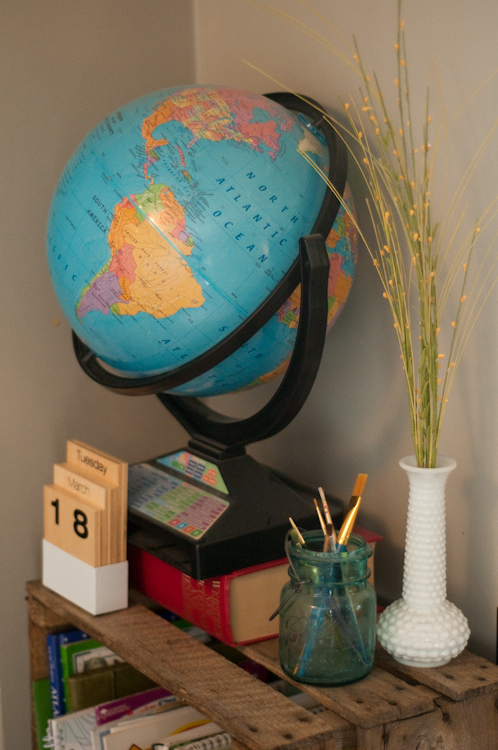 How We Homeschool In A Small Space part 2 :: Vintage Kids | Modern World