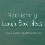 Nourishing Lunch Box Ideas