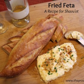 Fried Feta :: A Cheesy Recipe for Shavuot - Vintage Kids | Modern World