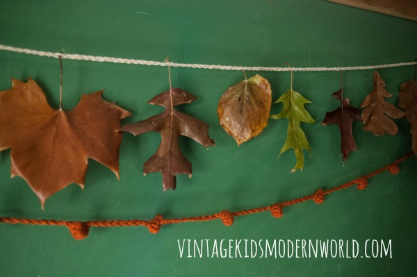 Bee's Wax Dipped Leaves :: Vintage Kids | Modern World Blog